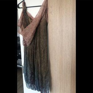 Silk Toga style Bubble Dress from Max Studio